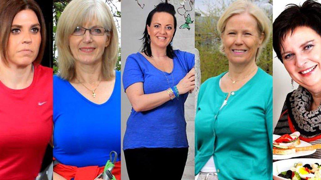 RUTH, Mai-Britt, Cathrine, Ann Kristin og Jorunn gjorde en stor innsats for å få ned vekten i 2013.
