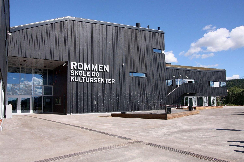 På lista: Utrydningstruet treverk er brukt i byggingen av superskolen Rommen, som stod ferdig i 2009. arkitvfoto