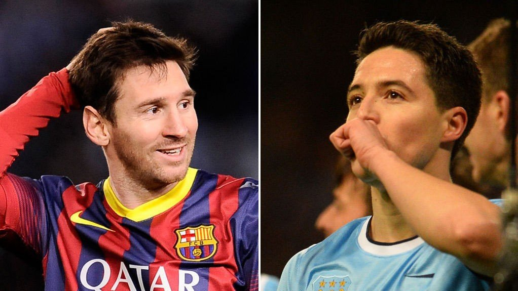 GIGANTOPPGJØR: Barcelona og City møtes i Mesterligaens åttendedelsfinale.
