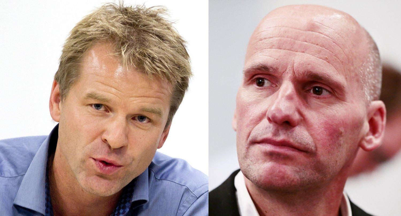BARE GODE NABOER?: Forholdet mellom forbundsleder Sigve Bolstad og advokat Geir Lippestad blir temaet mellom PFs kontrollnemnd og Sigve Bolstad 5. - 6. mars.