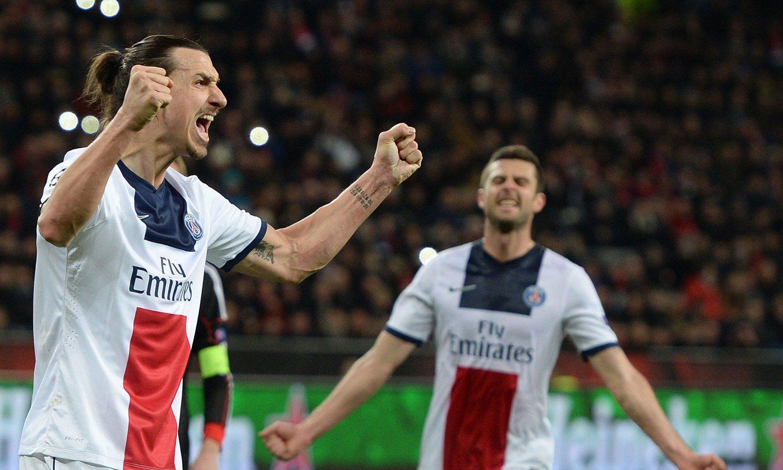 SUPERRESULTAT: Zlatan Ibrahimovic var sterkt delaktig da PSG fikk med seg et superresultat fra møtet med Bayer Leverkusen.