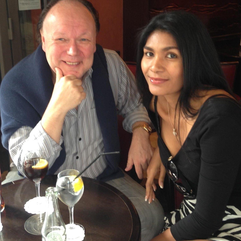 Sten Ture Jensen og hans kjæreste Tim