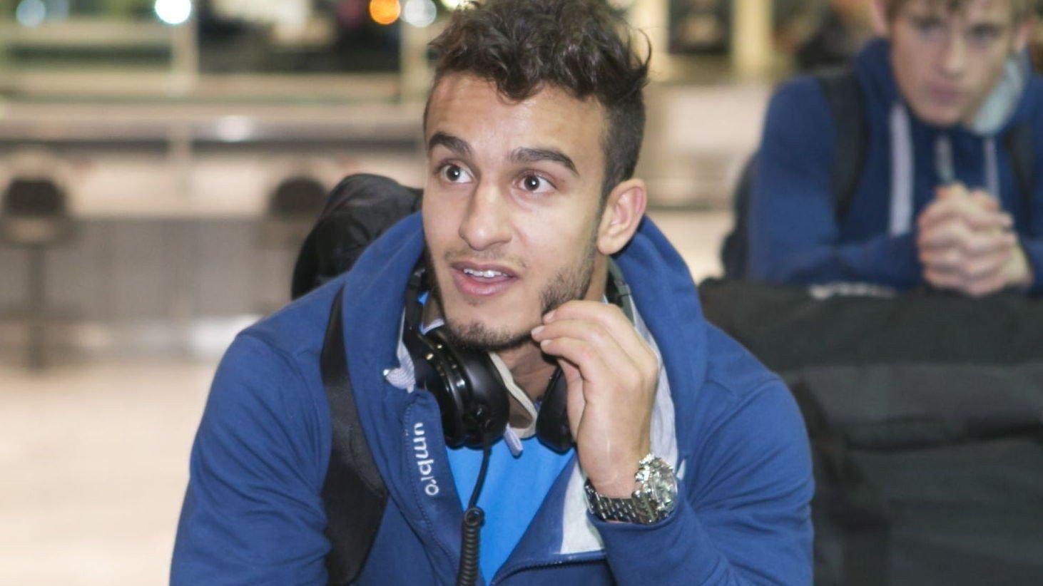 SKADET: Mohamed Fellah må belage seg på fire til seks uker på sidelinjen etter at han pådro seg en strekk i møtet med Nordsjælland.