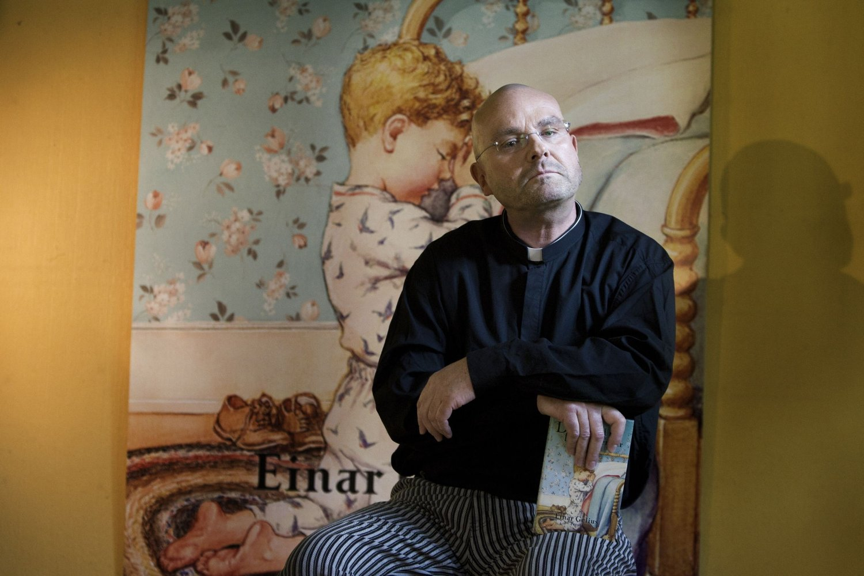 NY JOBB: Einar Gelius har fått ny prestejobb.
