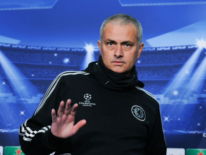 KLINKET TIL: José Mourinho sa klart ifra hva han mente om at han hadde blitt sitert på en privat samtale.