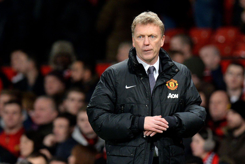 I ALVORLIG TRØBBEL: Kilder tett på spillergruppa i United hevder Moyes har mistet garderoben totalt og at han må forlate klubben.