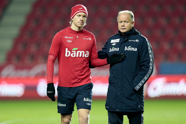 FRISKE OG RASKE: Per-Mathias Høgmo har en skadefri og kampklar tropp før møtet med Tsjekkia.