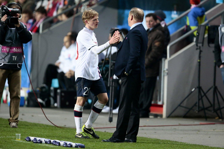 STORSPILL: Mats Møller Dæhli gjorde en svært god kamp mot Tsjekkia.