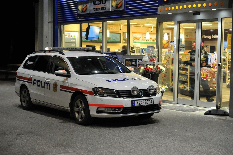 STJÅLET: Politiet er nå på jakt etter bilen som ble stjålet