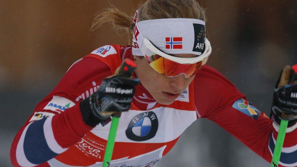 Astrid Uhrenholdt Jacobsen fikk et tøft comeback etter fallet i Holmenkollen.