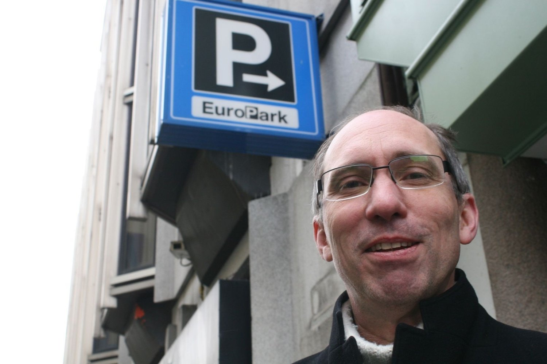 VANT: Ola Tømmerås vant over Europark etter å ha betalt for mye for parkering og fått bot.