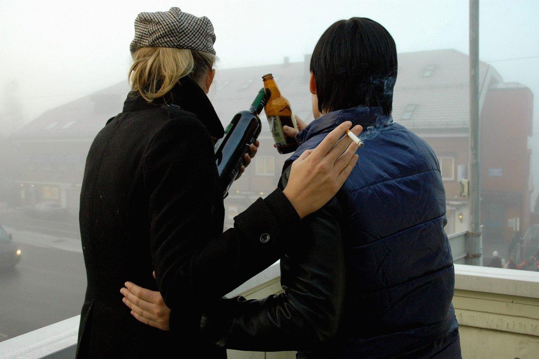 Fester kan gå over styr, spesielt dersom noen er beruset og har med seg drikkevarer.