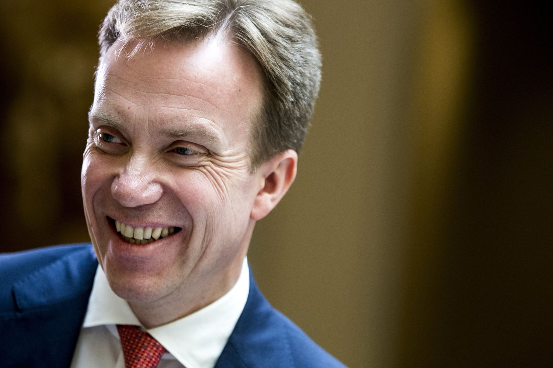 I STORTINGET: Utenriksminister Børge Brende holdt en utenrikspolitisk redegjørelse i Stortinget tirsdag.