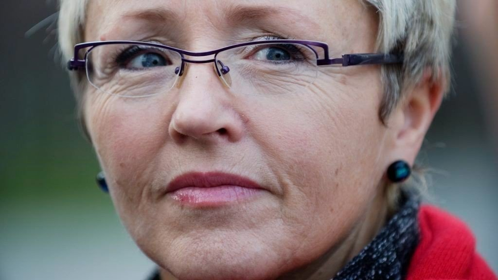 SYKMELDT: Sp-leder Liv Signe Navarsete er sykmeldt i en uke til.