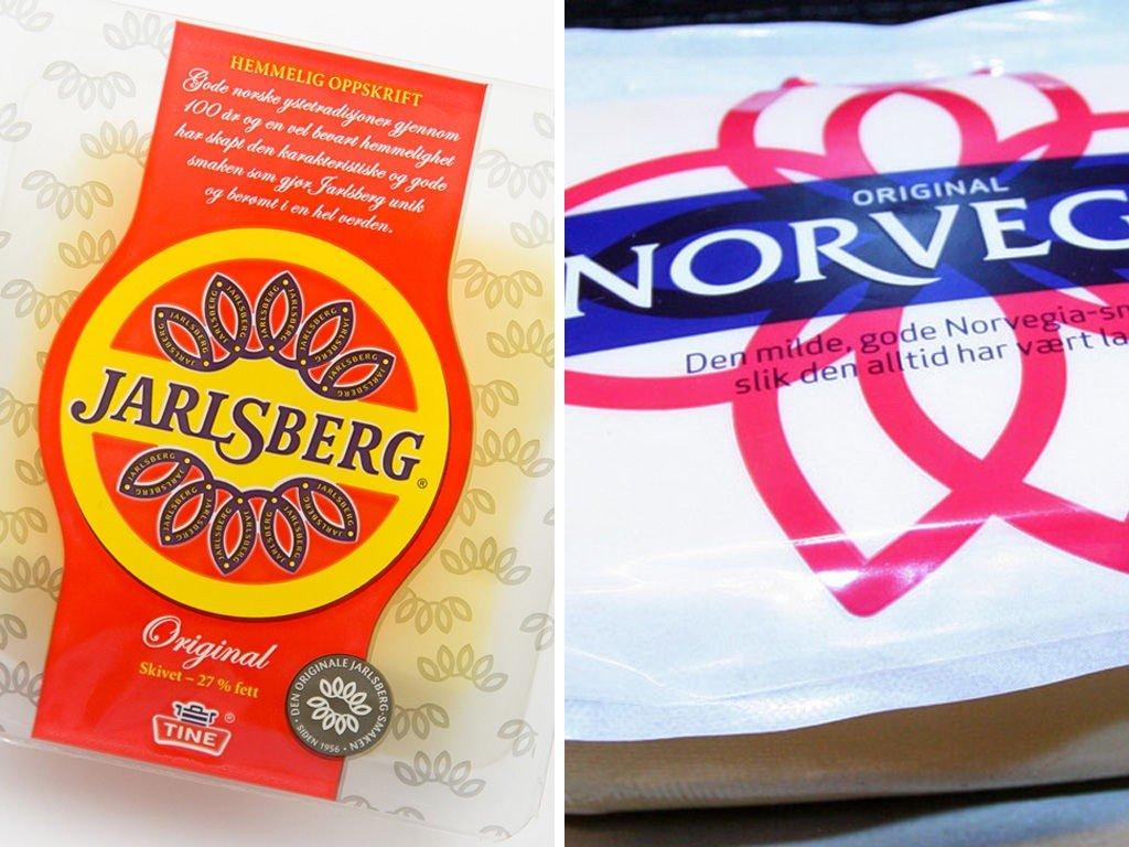 Salget av Jarlsberg og Norvegia har økt betydelig det siste året.