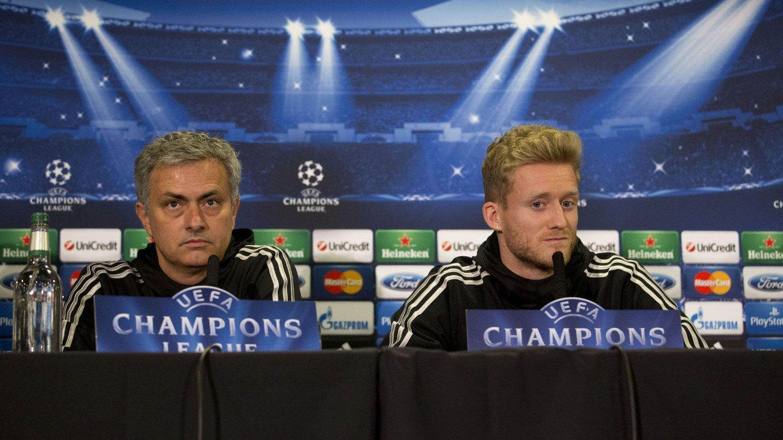 SJALU: André Schürrle mener kritikken mot José Mourinhos taktikk grunner ut i sjalusi.