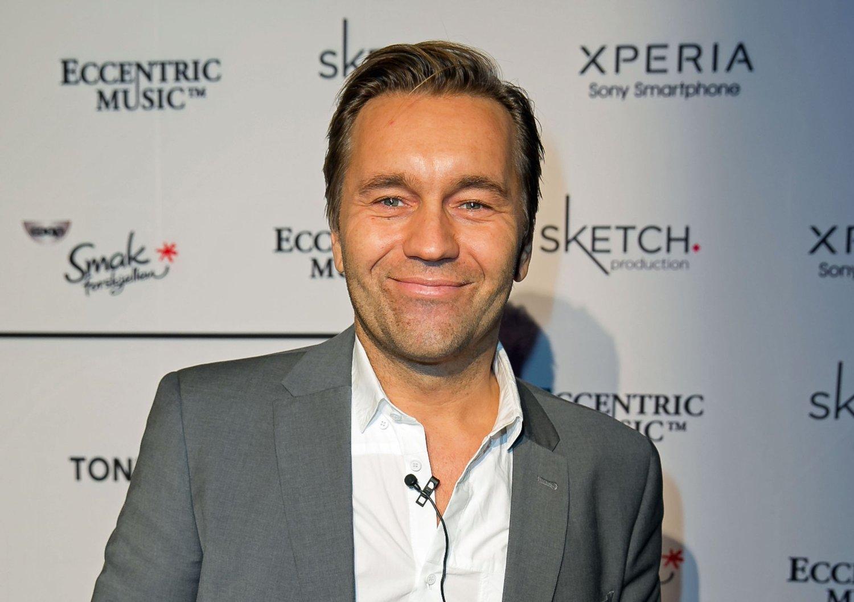 FÅR REFS: Produsent og manager David Eriksen.
