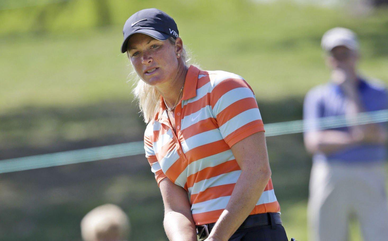 MISTET LEDELSEN: Det norske golfesset Suzann Pettersen.