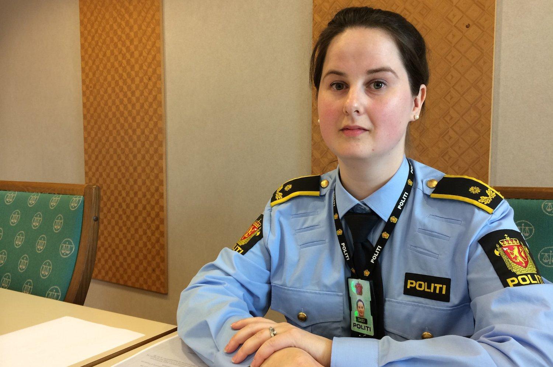 AKTOR: Politiadvokat Margrethe Wigeland Øiestad i fenglingsmøtet mot kvinnen i Trondenes tingrett mandag.