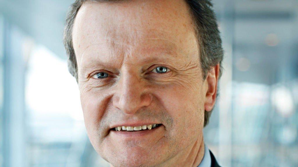 Konsernsjef Jon Fredrik Baksaas i Telenor er fornøyd med starten på året.
