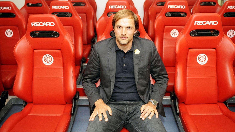 FÅR ROS: Mainz-trener Thomas Tuchel har imponert og blir beskrevet som den neste Klopp.