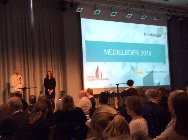 Anders Sømme Hammer og Kristin Solberg ble hedret i Bergen.