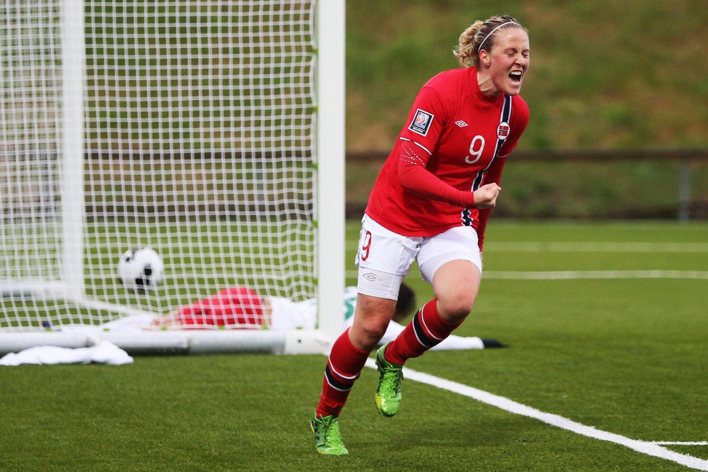 VANT: Norge vant 2-0 over Portugal i VM-kvalifiseringskampen onsdag.