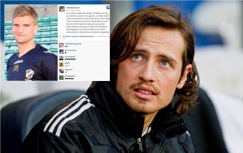 HYLLER KOMPISEN: Mikkel «Mix» Diskerud og Tor Marius Gromstad spilte sammen i Stabæk.