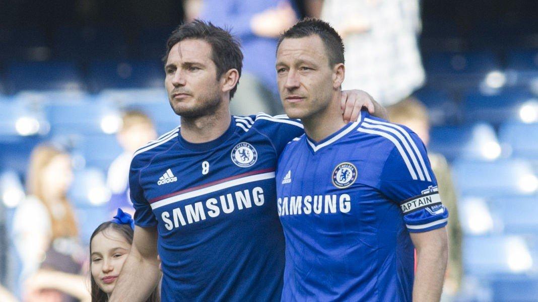 SUPERDUO: Frank Lampard og John Terry har spilt sammen i Chelsea siden 1001, da Lampard kom fra West Ham. Terry har vært hos blåtrøyene hele karrieren.