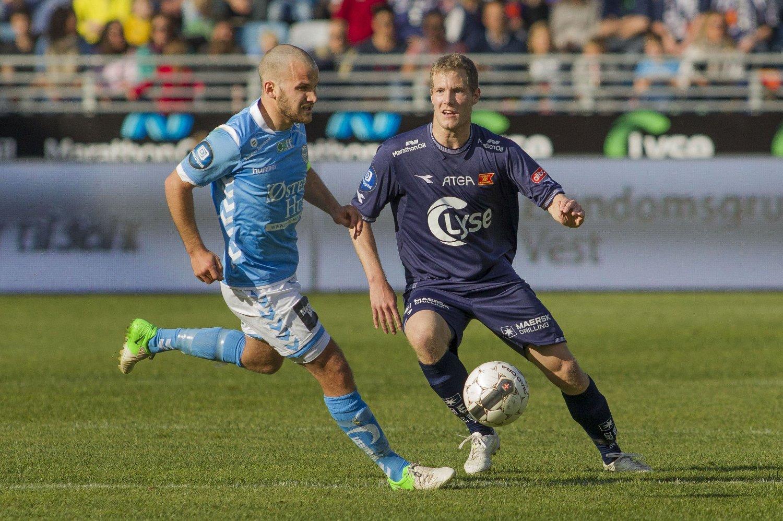 UAVGJORT: Det ble 2-2 mellom Viking og Sandnes Ulf i fredagens rivaloppgjør.