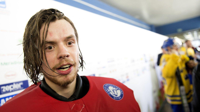 IMPONERER: Steffen Søberg har levert to strålende kamper for Norge i VM.