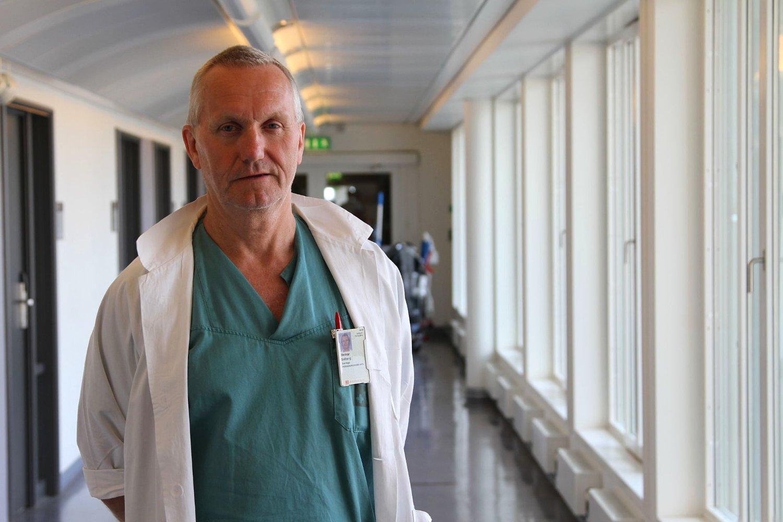 ELEFANTSYKE: Steinar Solberg, overlege og tillitsvalgt Oslo Universitetssykehus Rikshospitalet mener storsykehuset lider av elefantsyke.