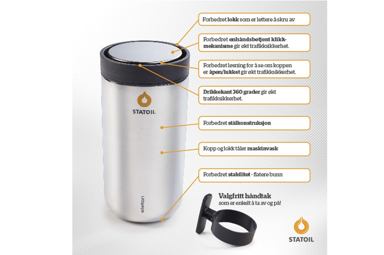 8b9f676a Statoil , Kaffeavtalen | Statoil erstatter skandalekoppen: - Dette ...