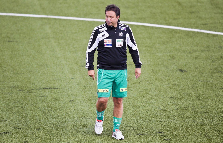 TRAGISK: Tidligere HamKam-trener Vegard Skogheim mener det er tragisk at klubben risikerer å gå konkurs.