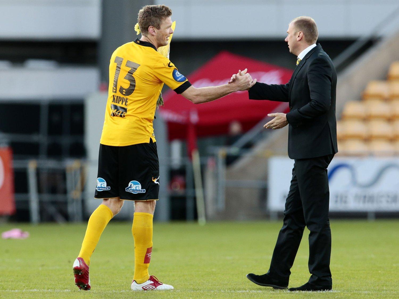 TROR DET ORDNER SEG: Lillestrøm-kaptein Frode Kippe tror spillerne vil få det de har krav på.