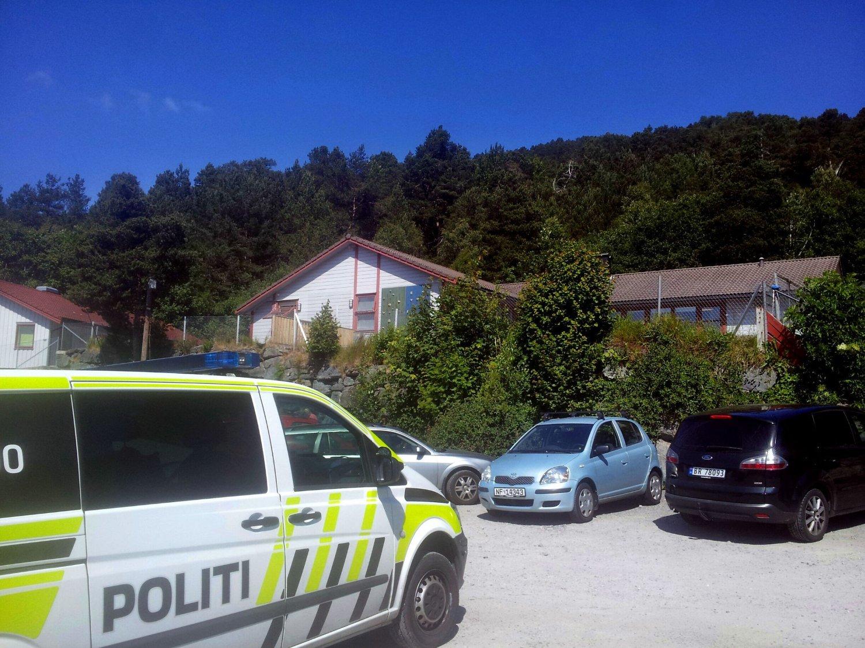 BARNEHAGEULYKKE: Et barn døde etter en ulykke i Blindheim barnehage i Ålesund fredag formiddag.