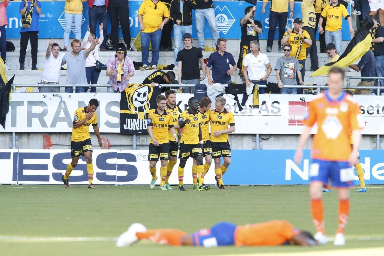 OPPTUR: Lillestrøm fikk endelig en opptur da de vant 3-1 borte mot Aalesund i cupen.