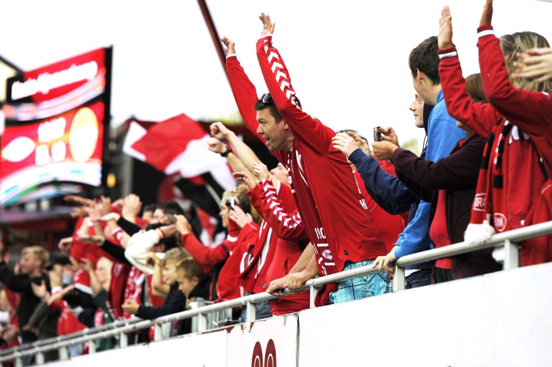 KVARTFINALER: Brann-fansen kan se frem til å møte Odd i kvartfinalen i cupen.
