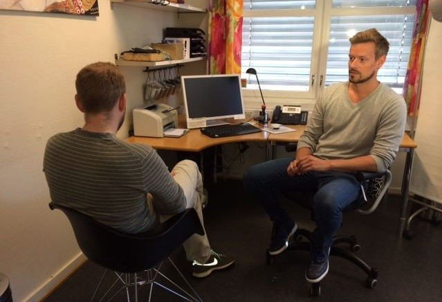 FOR SEXKJØPERE: Anders Røyneberg, psykiatrisk sykepleier ved klinikken Sex og samfunn, mener tilbudet er viktig for å ivareta sexkjøperes fysiske og psykiske helse.