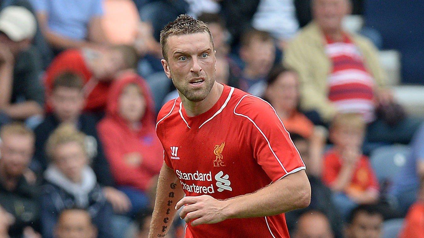 NY I LIVERPOOL: Rickie Lambert er én av seks spillere som Liverpool har kjøpt i sommer.