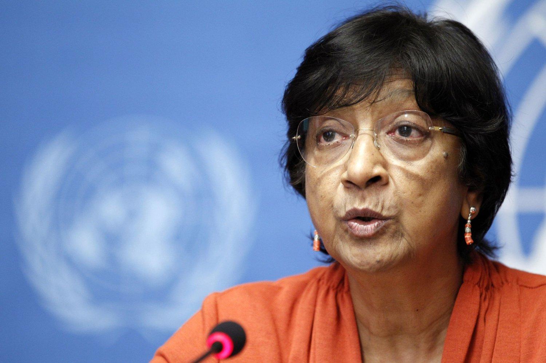 UNs høykommissær Navi Pillay