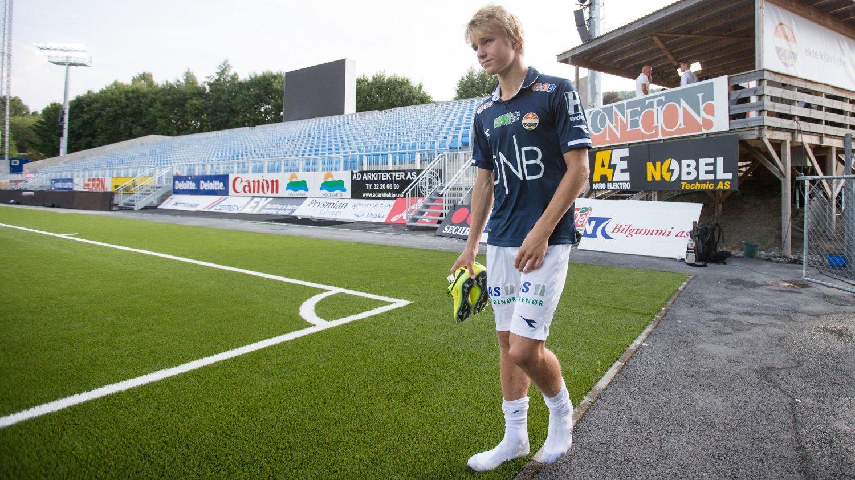 5e06548d HÅP: Norge har flust av unge talenter på vei opp, og Martin Ødegaard er