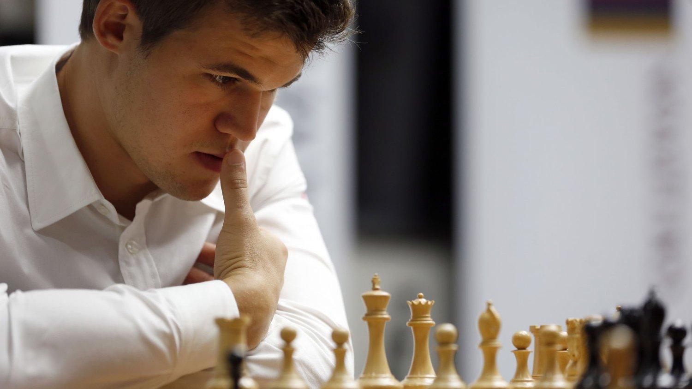 REMIS: Det ble remis for Magnus Carlsen i sjette runde av Sinquefield Cup.