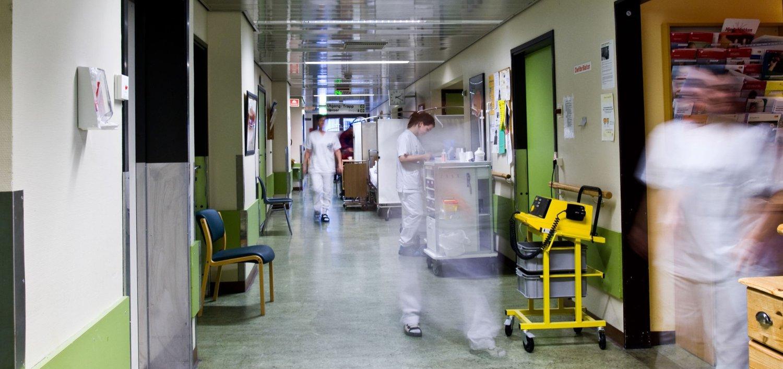 Stavanger universitetssykehus i snitt 22 korridorpasienter hver eneste dag.