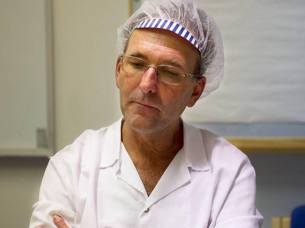 SINNE OG FORTVILELSE: - Det er skuffelse, frustrasjon, sinne og fortvilelse, sier hovedtillitsvalgt Tore Nielsen ved Toro-fabrikken.