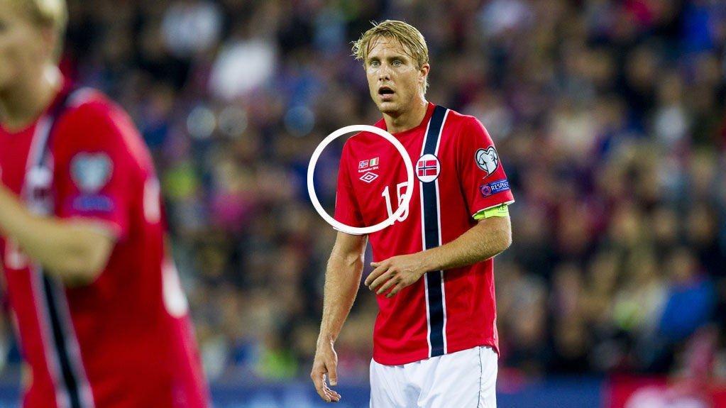 NYE DRAKTER: Det norske landslaget bytter utstyrsleverandør.