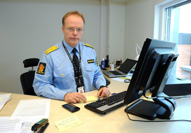 Politimester Johan Martin Welhaven ved Vestoppland politidistrikt advarer mot bruk av våpenkopier.