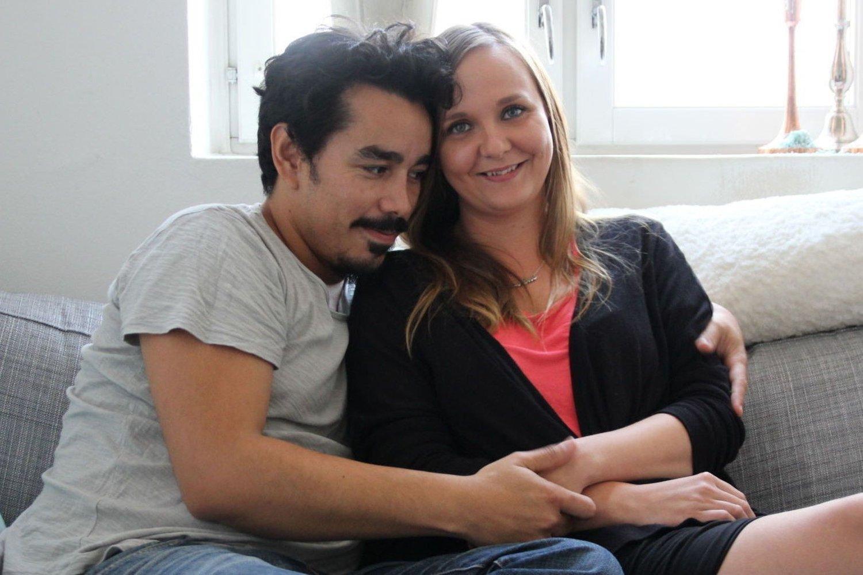 Carlos Steinmann og kona Kari-Ane Hiis Hanssen forsøker å være positive.