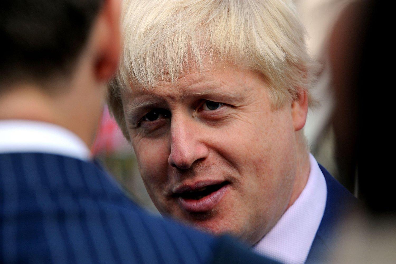 Londons fargerike borgermester Boris Johnson havner trolig i parlamentet.