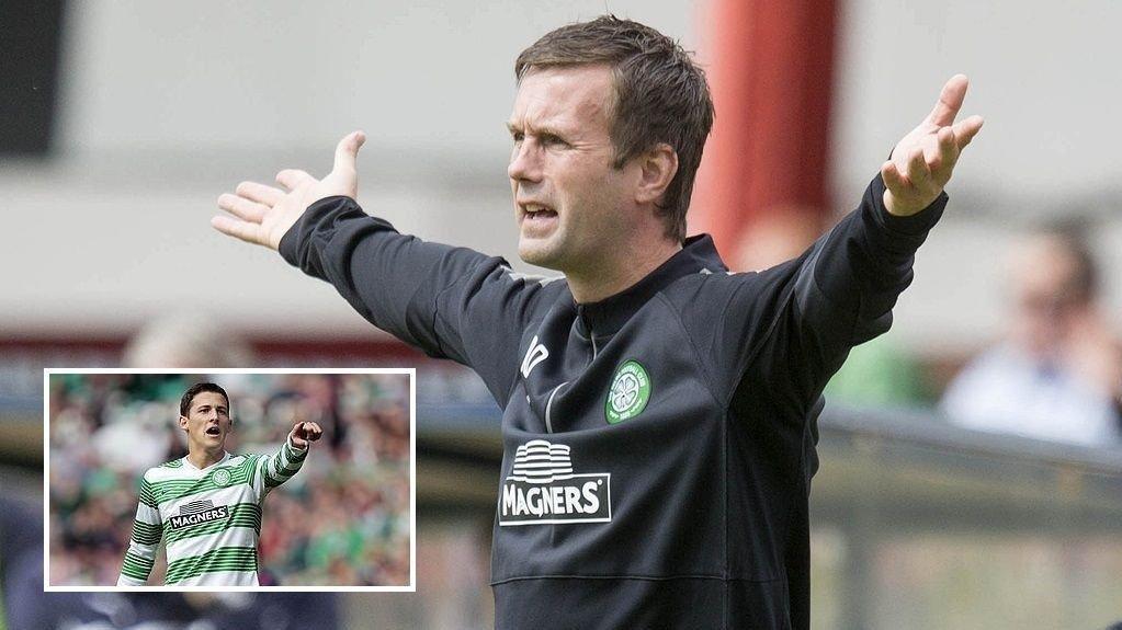 TRØBBEL: Alexandar Tonev beskyldes for å ha kommet med rasistiske bemerkninger mot en motstpiller i sin Celtic-debut.